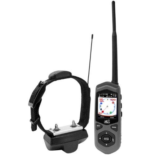 Dog Expedition TC1 Border Patrol GPS System and Remote Trainer, Black Finish by Dog Expedition