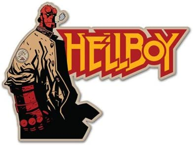 Hellboy Autocollant Vinyle