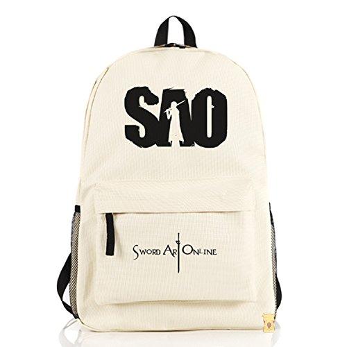 CherishL® Sword Art Online Anime Backpack School Book Messenger Shoulder Bag