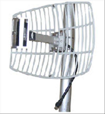 2.4GHz/15 dBi gain Dish WiFi Antenna by Embedded Works