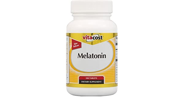 Amazon.com: Vitacost Melatonin Time Release 5 mg Plus B6 -- 100 Tablets by Vitacost Brand: Health & Personal Care