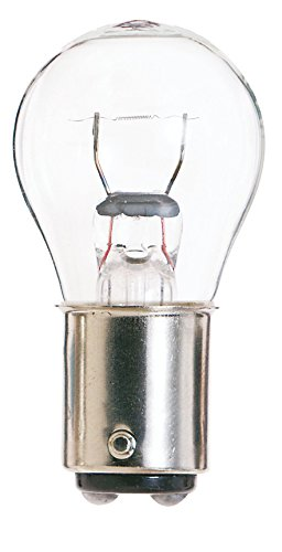 Satco 94 Miniatures Miniatures, 13.3W BA15d S8, Clear Bulb [Pack of 24] ()