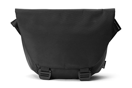 Booq Shadow, Black Nylon Shoulder Bag for Up to 15'' MAC/PC by Booq