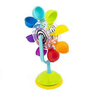 Sassy Whirling Waterfall Suction Toy for Bathtime - Stem - Ages 6+ Months