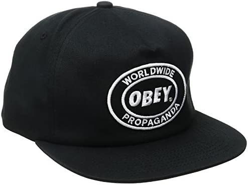 Obey Gorra Oval Patch Snapback BK: Amazon.es: Ropa y accesorios