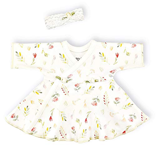 | Preemies Girls Clothing | Ruffle Dress by Itty Bitty Baby | Vintage Garden