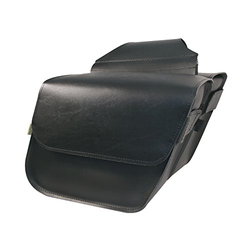 Willie & Max By Dowco - Raptor Series - Compact Slant - Saddlebag Set - Lifetime Limited Warranty - UV Protection - Maintenance Free Synthetic Leather - Universal - Up To 20L Capacity [ 58801-00 ] (Willie Max Luggage)