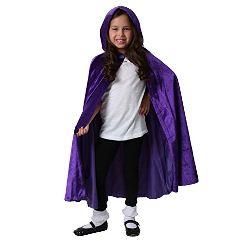 Purple Storybook Wishes Cloak, (Storybook Themed Halloween Costumes)