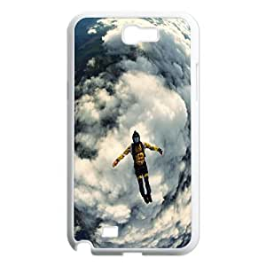 Extreme Sports Skiing Skateboard Baseball Phone Case Cover for Samsung Galaxy Note 2 N7100 case TSL129599