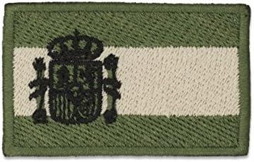 Parche Albainox Bandera brazo oficial España color verde 09274: Amazon.es: Productos para mascotas