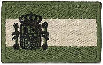 Parche Albainox Bandera brazo oficial España color verde 09274: Amazon.es: Electrónica