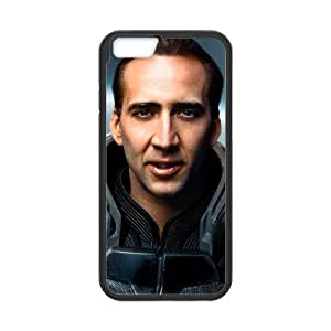 iPhone 6 4.7 Inch Cell Phone Case Black Nicolas Cage Custom Phone Case Cover Clear CZOIEQWMXN28422