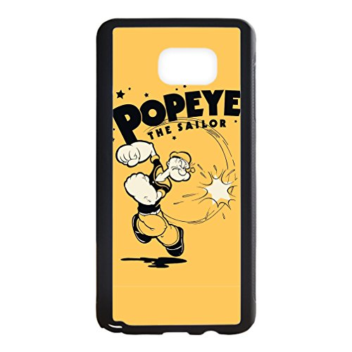 Libby Baldwin New fashion custom Popeye the Sailor Man Cartoons hight quality Laser Technology TPU & Plastic Samsung Galaxy Note 5 Case