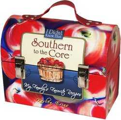 """Southern To The Core - """"My Family's Favorite Recipes"""" - Lunchbox With Recipe Cards By Karlen Eving"""