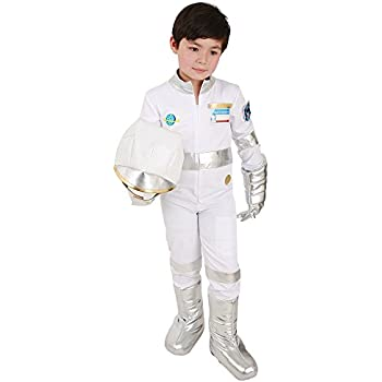 Amazon.com: Children Astronaut Costume Kids Role Play Dress ...