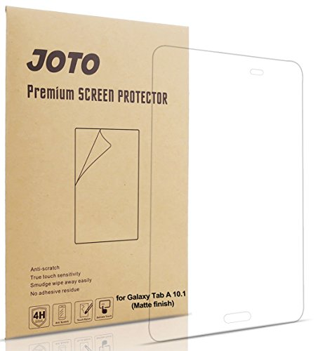JOTO Samsung Galaxy Tab A 10.1 Screen Protector Film Anti Glare, Anti Fingerprint (Matte Finish) Screen Guard for Galaxy Tab A 10.1 Inch SM-T580 Tablet, (3 Pack)