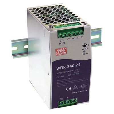 Mean Well WDR-240-24 AC to DC Power Supply