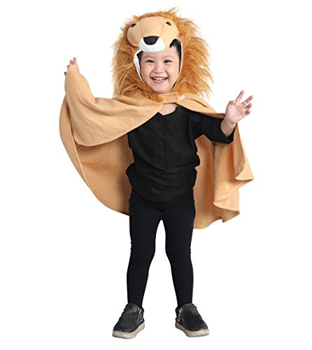Mens Lion Costume Ideas (Fantasy World Lion Halloween Costume Cape f. Babies and Toddlers, One Size, An77)