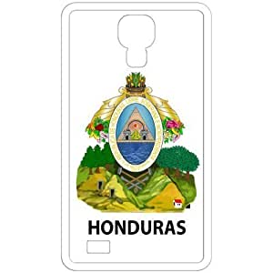 Honduras - Country Coat Of Arms Flag Emblem White Samsung Galaxy S4 i9500 Cell Phone Case - Cover