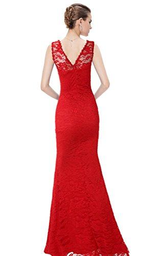 Vimans -  Vestito  - fasciante - Donna Red 46