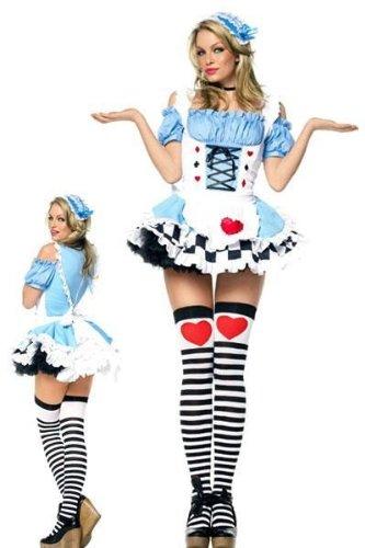 Miss Wonderland Costumes (Miss Wonderland Adult Costume - Medium)