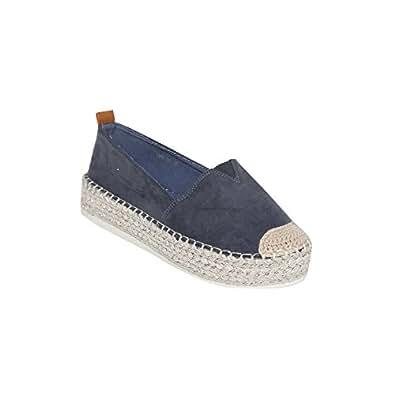 Alpargatas Puntera y Base de Esparto by Vencastyle,Marino,39: Amazon.es: Zapatos y complementos