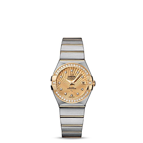 Omega-Constellation-Champagne-Diamond-Dial-Steel-and-18kt-Yellow-Gold-Ladies-Watch-12325272058001