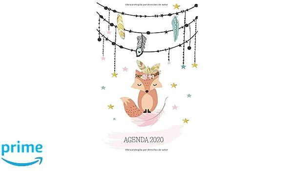 Agenda 2020: Zorro Planeador Anual Mensual Semanal de 6x9 ...