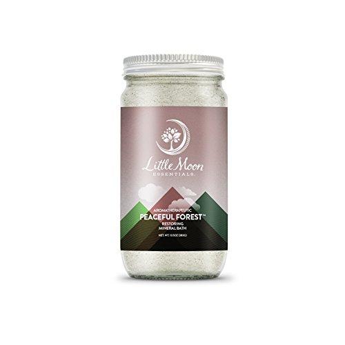 Little Moon Essentials Peaceful Forest Bath Salt 13.5 ounces ()