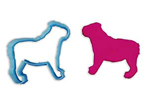 English Bulldog Dog Breed Cookie Cutter - STANDARD - 3 Inches