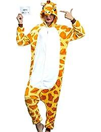 Adult Onesies For Women Giraffe Pajamas Costume Teens Girls Animal Onsie