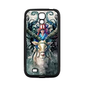 Fayruz- Personalized Princess Mononoke Protective Cover Hard Textured Rubber Phone Case for Samsung Galaxy S4 i9500 G-S4H889