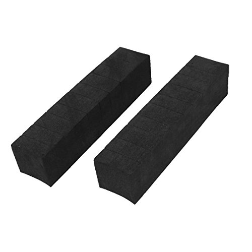 uxcell a13030900ux0555 2 Pcs Foam Adhesive Car Door Edge Guard Bumper Protector Decor Black, 2 Pack