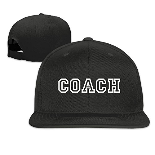 New Solid Hip 166 Flat Cap Coach Baseball fboylovefor Bill Shirt Hop Snapback TCW1fq
