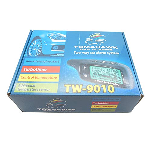 - TW9010 Two Way car Alarm System English Russian Manual Two Way car Alarm System with Engine Start Tomahawk TW9010 Alarm System