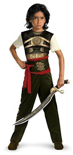 Boys Dastan Classic Kids Child Fancy Dress Party Halloween Costume, M (Dastan Classic Child Costumes)