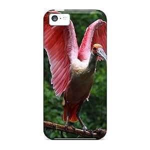 Brand New 5c Defender Case For Iphone (birds Ibis)