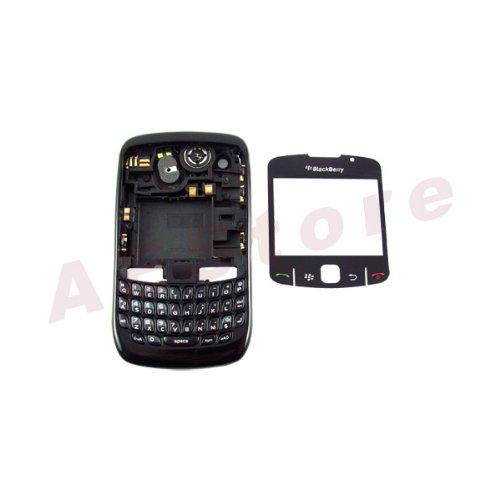 8520 Blackberry - BlackBerry Curve 8520 FULL Housing Case Black