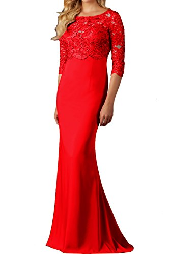 Ivydressing - Vestido - Estuche - para mujer Rojo