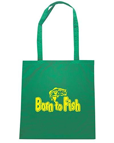 Speed Shirt Borsa Shopper Verde FUN1209 FISHING