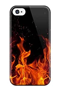 Cute Tpu Robert J Murphy Awesome Fire By Knato Dxm Case Cover For Iphone 4/4s