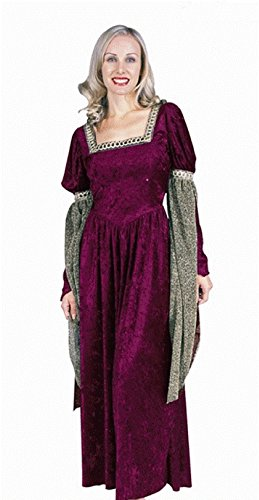 Priest Or Monk Wig (OvedcRay Renaissance Queen Lady Woman Costume Medieval Faire Juliet Princess Adult Dress)