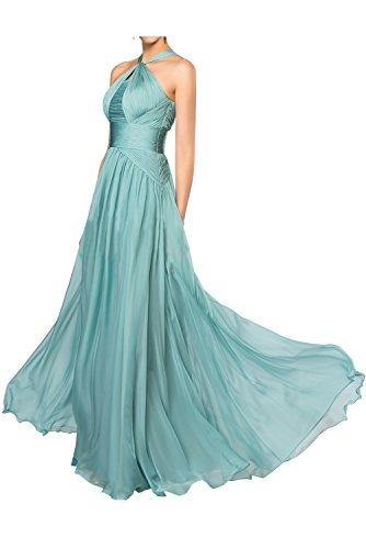 Gorgeous Fashion Lang Empire Rabatte Festkleider Bride Ballkleider Hellgruen Abendkleider Chiffon Oqw5rOxP