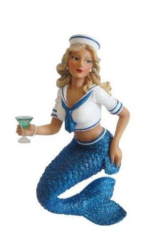 December Diamonds Marina Glitter Sailor Mermaid Ornament