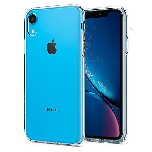 - Spigen Liquid Crystal Designed for Apple iPhone XR Case (2018) - Crystal Clear