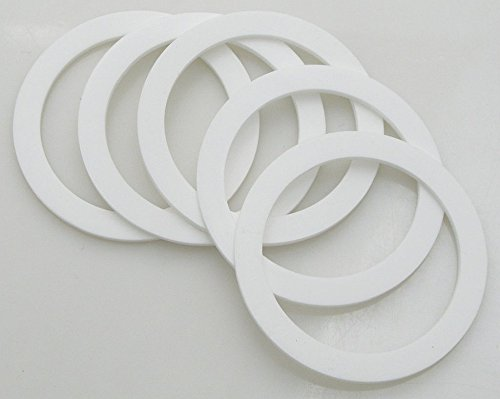Apollo Sprayers FS1672 1-Quart Cup Top Gasket - Pack of 5 (Quart Cup 1)