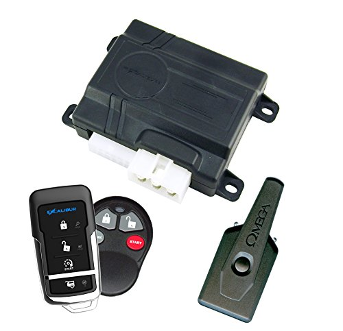 Excalibur (RS360EDP) Remote Start and Keyless Entry System (Excalibur Starter Car)