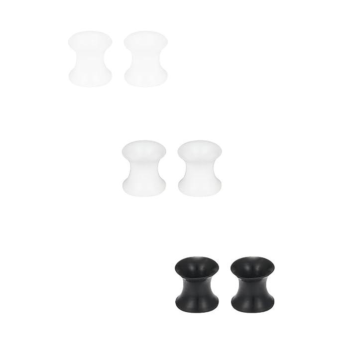 Amazon.com: SCERRING - 3 pares de dilatadores ultrafinos de ...