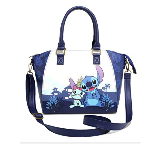 Lilo and Stitch Bag, Blue, 10″ x 6″ x 12″