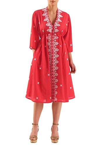 Voile Empire Dress - 1